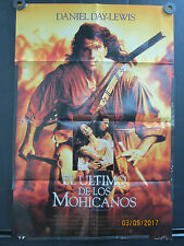 The Last Days of the Mohicans Spanish Movie Poster El Ultimo Se Los Mohicanos
