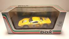 MODEL BOX FORD GT 40 SPA 68 YELLOW 1:43 SCALE NEW IN BOX