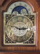 Horloge de parquet/debout Interclock Belgique 2e/2 du XXe siècle hauteur 2,08 m