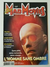 MAD MOVIES  n°127  * 2000 *  L'homme sans ombre  The Cell  Scary Movie