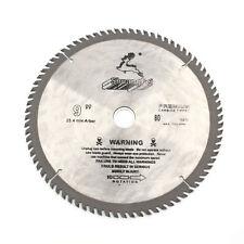 """9"""" Inch Saw Blade Circular Saw Blade 80Teeth Cut Off Wheel For Wood Cutting"""