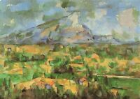 Art Postcard, Mont Sainte-Victoire (1902-4) by Paul Cezanne IH4