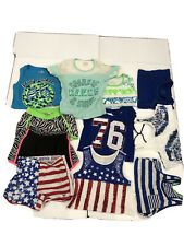 girls clothes lot size 10-12 justice