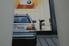 204768) BMW 3er Reihe E46 Touring Prospekt 02/2001