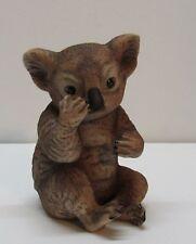 Koala Bear Figurine 1979 Rj Brown Vintage