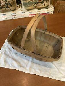 Trug Vintage Basket Vegetable Handled Carrying Tray