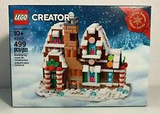 LEGO Creator 40337 Gingerbread House Limited Edition Mini of 10267