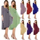 Plus Mother of the Bride/Groom Dresses&Jacket Wedding Formal Evening Outfits 2 4