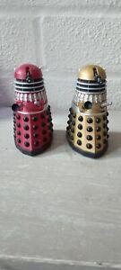 Character options classic Dalek Figures alpha & omega 3.75 Dr Who