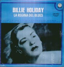 "BILLIE HOLIDAY "" LA REGINA DEL BLUES "" LP  SIGILLATO RIFI - VARIETY ITALY"