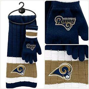 NFL Los Angeles Rams Scarf&Glove Gift Set