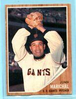 1962 Topps Baseball Car #505 Juan Marichal - San Francisco Giants (EX)