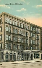A Closeup View Of The Juneau Hotel, Milwaukee, Wisconsin WI