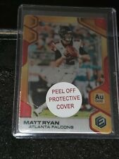 2019 Elements Matt Ryan #43 Gold Metal Base 15/25