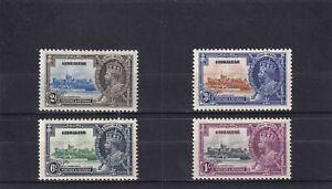 Gibraltar 1935 Silver Jubilee. Mint Hinged. SG 114/7