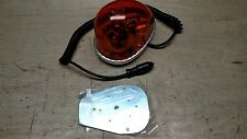 NOS VINTAGE DIETZ 7-07 SAE-W3-79 AMBER FIRE POLICE BEACON CAUTION ROTATING LIGHT