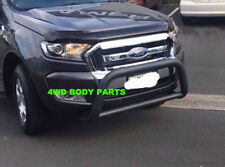 Black Nudge Bar for Ford Ranger PX MkII 2015 to 2018 with Tech Pack & Sensors