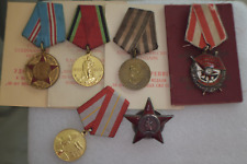 RUSSIAN SOVIET RUSSIA USSR Order PIN Badge Group Set of 6 Medals and Orders KGB