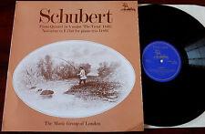 Schubert trout quintet LP LONDON Music Group Licorne RHS 311 Presque comme neuf (1973) Angleterre