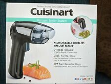 New listing 00006000  Cuisinart Chv-1000 Cordless Vacuum Sealer Suction Air