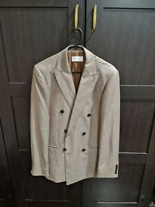 Reiss Double Breasted Suit Jacket
