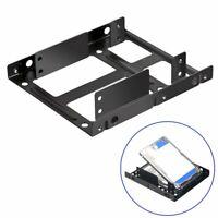 2.5 To 3.5 Hard Drive Dual Desktop SSD Mounting Bracket Internal Adapter
