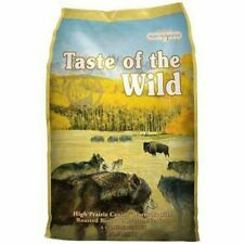 Taste Of The Wild Dry Dog Food High Prairie Canine Formula Roasted Bison 5lbs