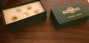 Franklin Mint Monopoly Tokens in original box