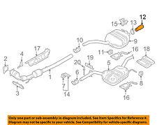 VW VOLKSWAGEN OEM 06-10 Passat-Exhaust System Tail Pipe Extension 3C0253683N