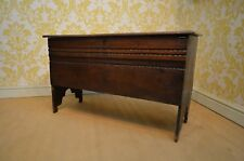 Rare 17th Century Oak Inlaid/Marquetry Coffer Chest
