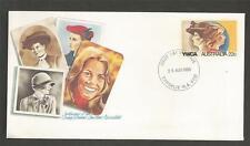 AUSTRALIA -1980 CENTENARY OF YWCA - PRE STAMPED ENVELOPE - F.D.C.