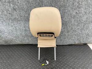 ✔MERCEDES R231 SL550 SL400 FRONT SEAT HEAD REST SET AIR VENT CUSHION TAN OEM