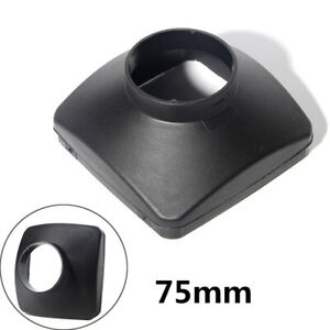 Heater Plastic Single Hole Outlet Cover  Diesel Engine Heater Single Hole Cover