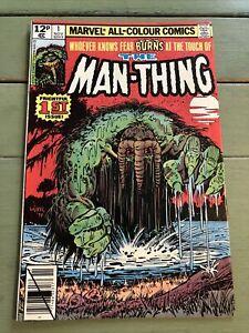 Vintage The Man-Thing Comic 1st Issue - 1979 - Marvel Comics  - 1st Nov 02317