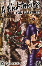 A Nightmare On Elm Street Paranoid #1 2005 Freddy Krueger Comic Avatar Terror