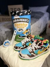 Nike SB Dunk Low Ben & Jerry's Chunky Dunky Size 11 F&F Edition !