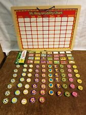 Used ~ Circo My Responsibility Chart - Magnetic, Wood, Whiteboard With Magnets