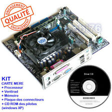 Kit Carte mère micro ATX NEC VL4+pentium 4 2,8GHZ+mémoire 512MO+drivers N4-IBFGL