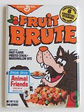 Fruit Brute FRIDGE MAGNET (2.5 x 3.5 inches) cereal box monster chocula werewolf