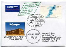 FFC 2004 Lufthansa Volo Speciale Olimpiadi Estive Atene Grecia Airbus A300 - 600