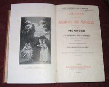 L'OEUVRE DU CHEVALIER ANDREA DE NERCIAT- PARIS 1912