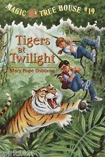 Tigers at Twilight Mary Pope Osborne (1999) Paperback Magic Tree House Books #19