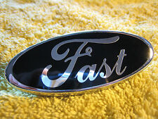 83-93 Mustang 'FAST' Badge Overlay 83-93 GT/V6/Cobra/Saleen - Perfectly Cut! FOX