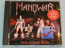 Manowar - Into Glory Ride - ORG Germany Geffen 1st Press cd NOT BOOT