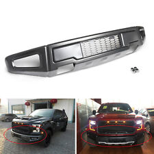2015 2017 F-150 Raptor Style Steel Charcoal Grey Front Bumper Assembly Kit