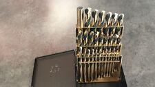 NEW Norseman 66480 Mechanic Length Drill Bit Set SPM-29 3-flats 1/16-1/2 by 64th