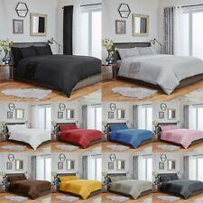 Crushed Velvet Duvet Cover & Pillowcase Bedding Set