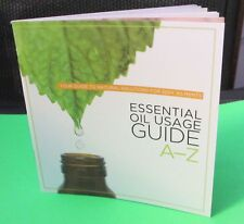 New ESSENTIAL OIL Usage Guide book A to Z how to doterra mini NEWEST EDITION a-z