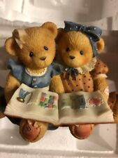 Cherished Teddies 1999 Roxie and Shelly Figurine Ex. Condition. 601586 A10