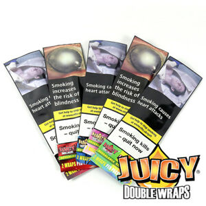 Juicy Jay Double Wraps - Single Packet - Various Flavours